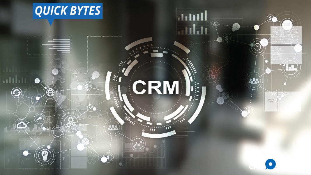 CRM, trends, AI, dashboard, social media, cloud, businesses, customer